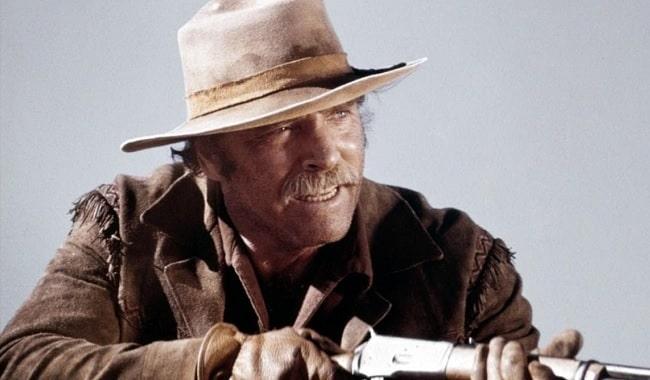 """El actor Burt Lancaster en la película """"La venganza de Ulzana"""""""