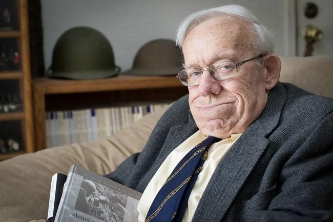 """Una de las últimas fotografías en vida de Dennis Showalter, autor de """"Los panzer de Hitler"""""""