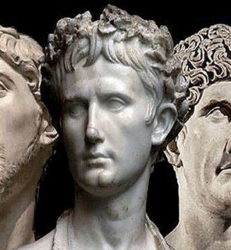Los integrantes del Segundo Triunvirato romano