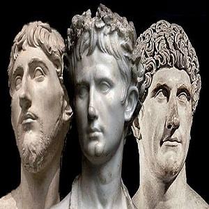 El Segundo Triunvirato romano: Octaviano, Marco Antonio y Lépido