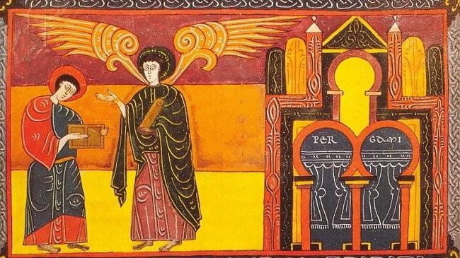 Beato de Liebana, obra del llamado arte mozárabe hecha en el siglo X