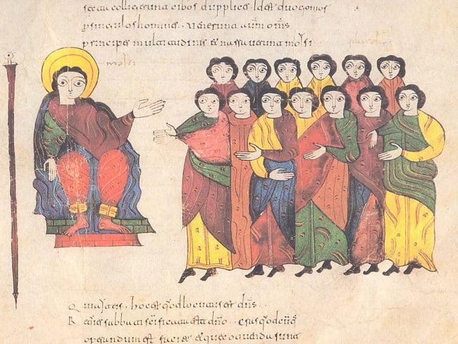 """""""Cristianos"""" en la Biblia de los mozárabes de León, datada del siglo X"""