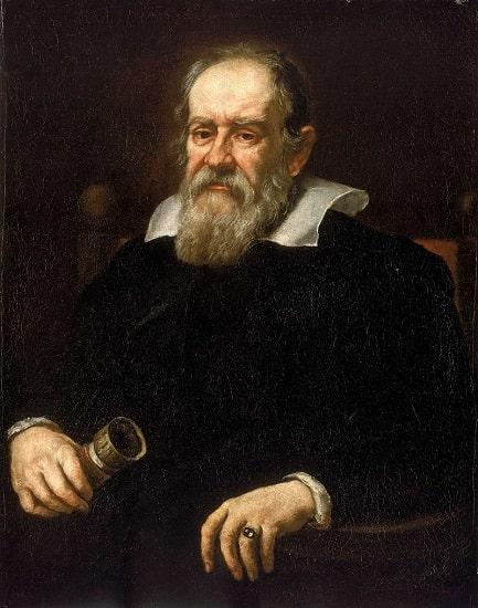 Retrato de Galileo Galilei hecho por Justus Sustermans en 1636