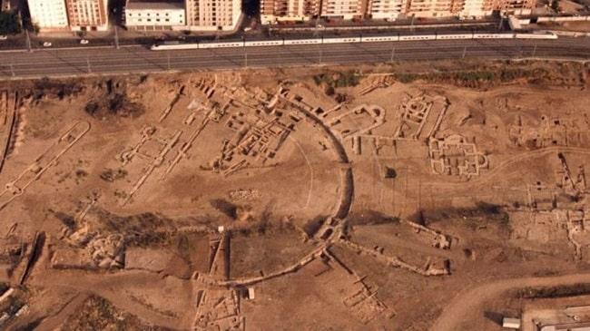 Yacimiento arqueológico de los mozárabes de La Cercadilla, en Córdoba