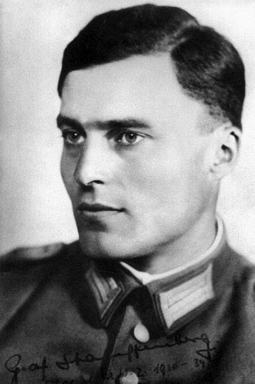 Fotografía del coronel Claus von Stauffenberg, líder de la Operación Valkiria en Alemania