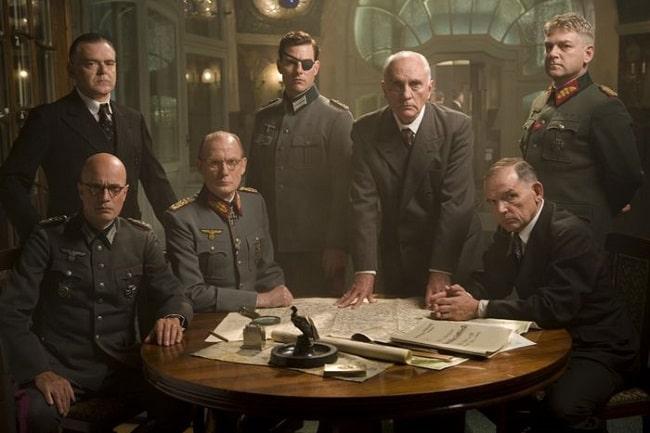 Los principales ejecutores de la Operación Valkiria representados en la película Valkiria, dirigida por Bryan Singer en 2008