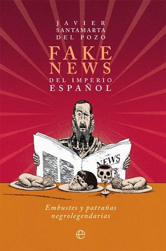Portada del libro Fake news del imperio español