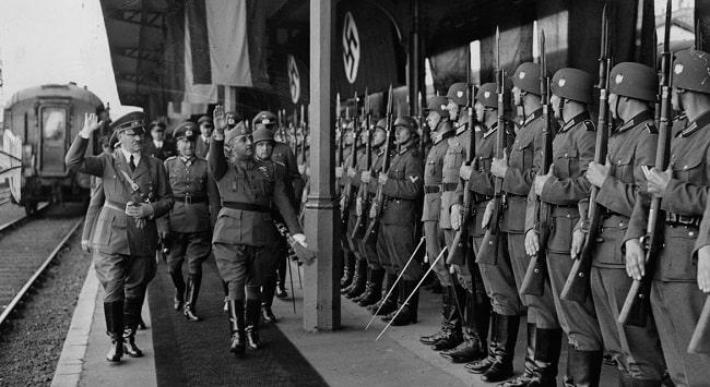 Reunión en Hendaya entre Francisco Franco y Adolf Hitler en octubre de 1940