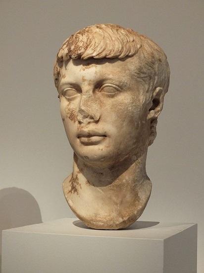 Busto de Marco Claudio Marcelo, sobrino de Augusto y causante de la conspiración de Varrón Murena
