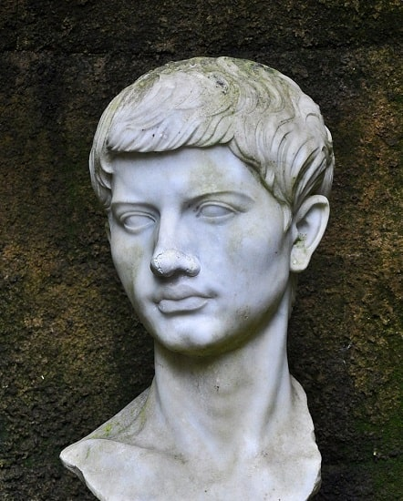 Busto de Virgilio conservado en Nápoles
