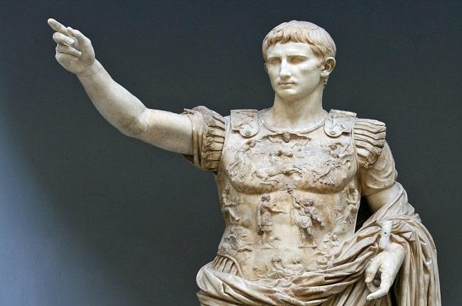 destacada origen del Imperio Romano reformas de Augusto