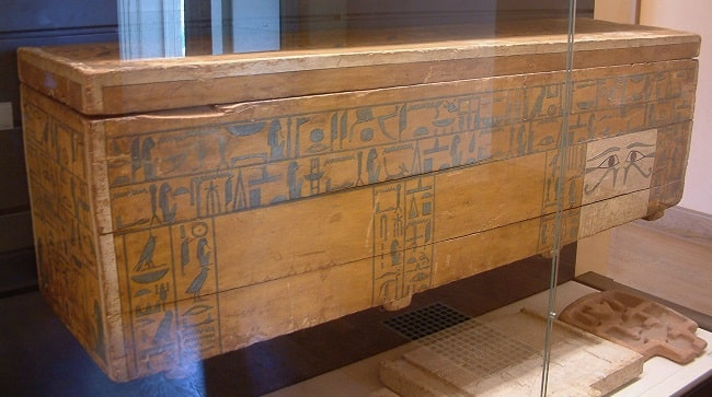 Sarcófago del canciller Najty (ca 1950-1900 aC) Dinastía XII (Imperio Medio)