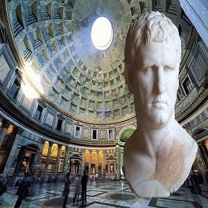 Marco Agripa, el mejor general y amigo del emperador César Augusto
