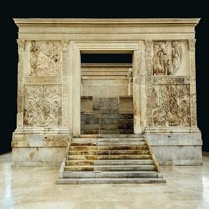 El Ara Pacis de Roma, la mayor obra de arte del emperador Augusto